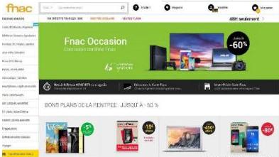 法國電商平臺fnac
